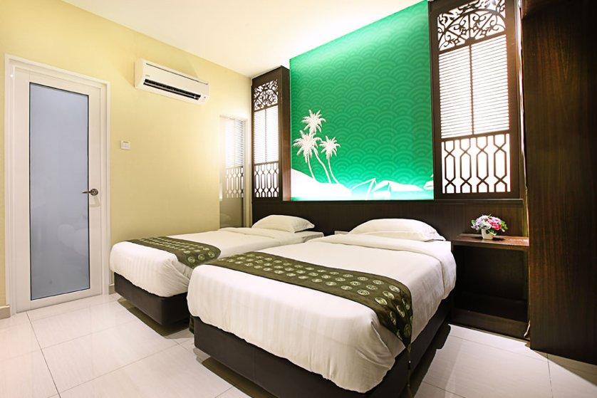 Twin room, Terengganu trees