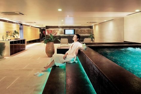 M Spa for relaxation