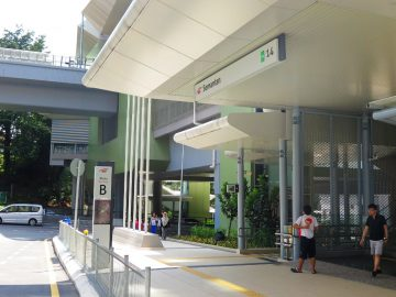 Entrance B of the Semantan station