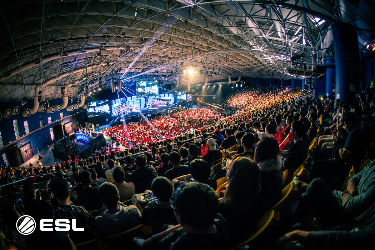 Full house at the Arena of Stars for the ESL One Genting 2018