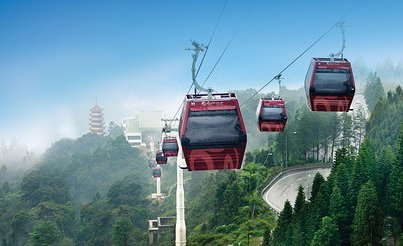 Flying gondolas