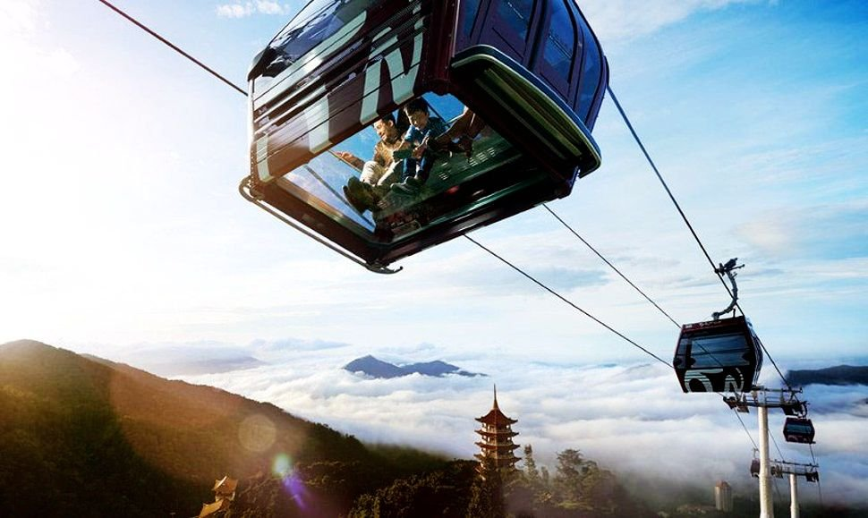 The Gondolas cable cars