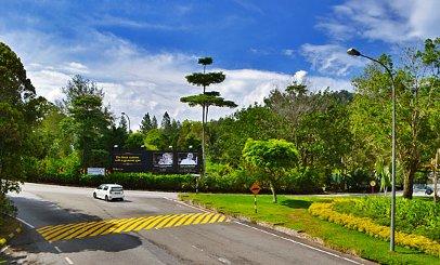 Near roundabout