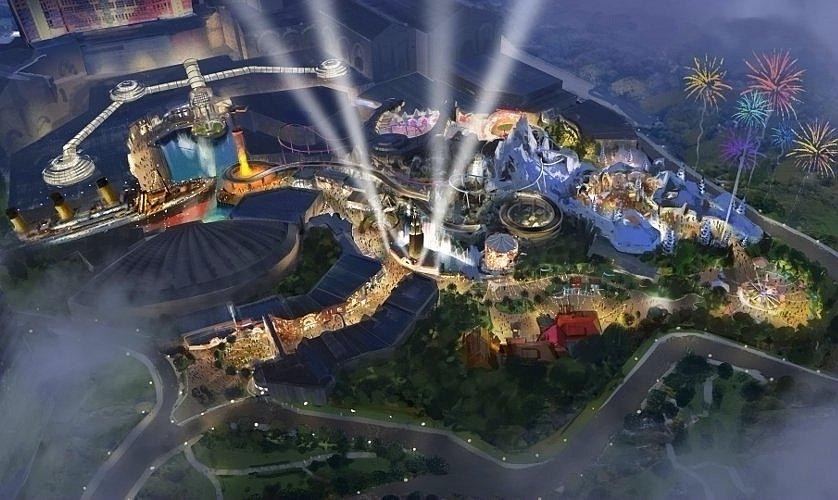 Twentieth Century Fox Theme Park - artist impression