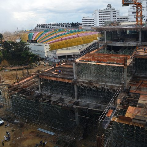 Construction in progress, Dec 2014