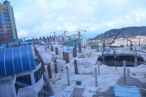 Construction in progress, Dec 2015