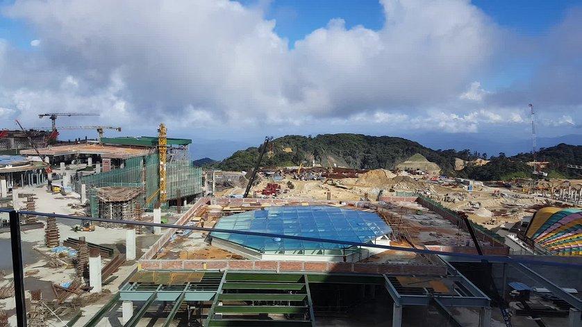 Construction photo taken in Feb 2016