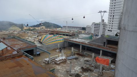 Construction update, May 2016