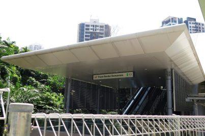Entrance A of Pusat Bandar Damansara station