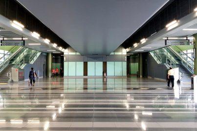 Concourse level of Stadium Kajang station