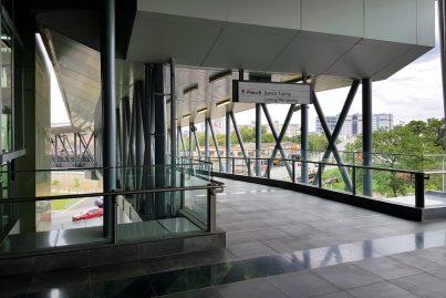 Exit to entrance B of the Stadium Kajang station