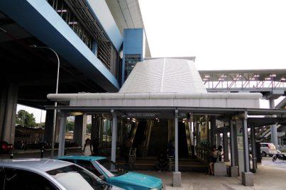 Entrance A of Batu 11 Cheras station