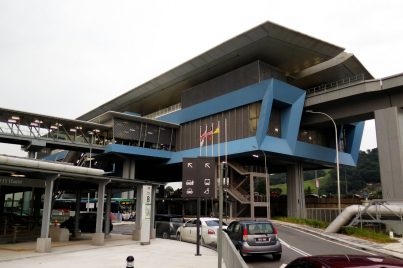 Entrance B of Batu 11 Cheras station