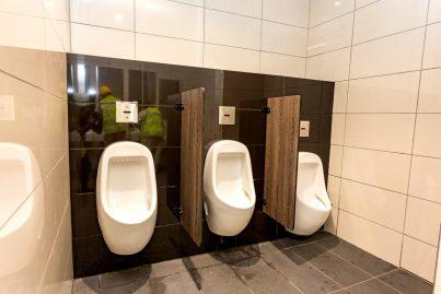 Public toilet at Cochrane station