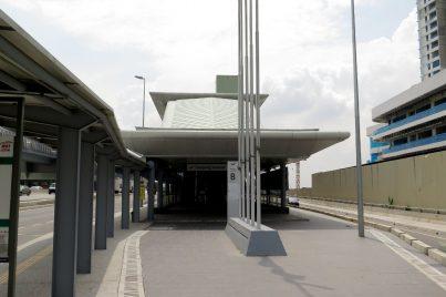 Entrance B of Kampung Selamat station