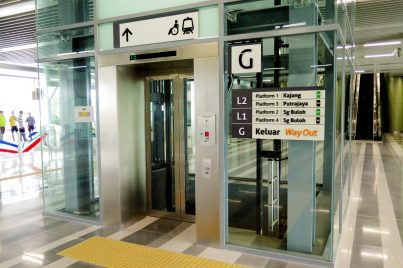 Elevator for faster access and better convenience