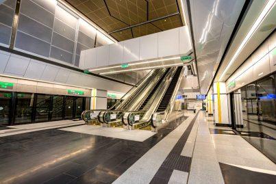 Train boarding platforms