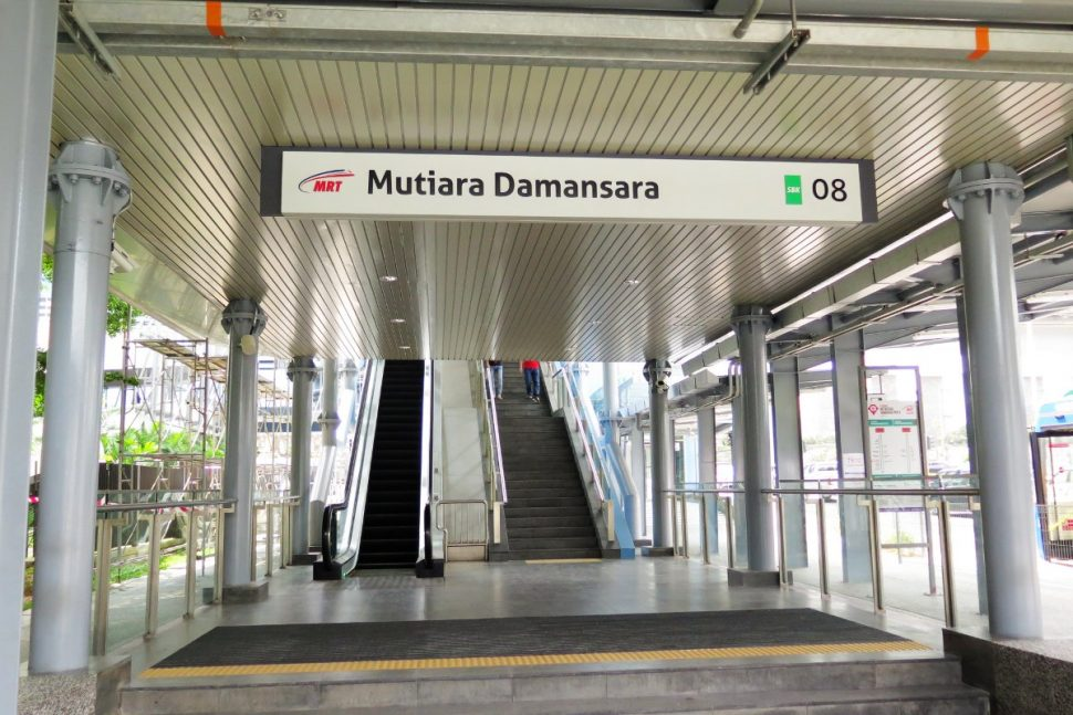 Entrance B of Mutiara Damansara station