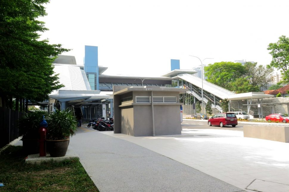 Entrance B and Entrance C at Mutiara Damansara station