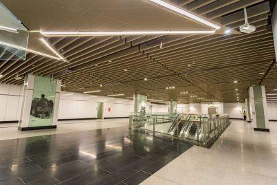 Concourse level of the Muzium Negara station