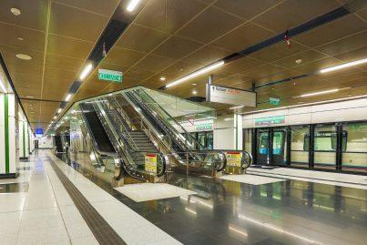 Boarding platforms of Muzium Negara station