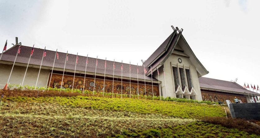 Muzium Negara along Jalan Damansara