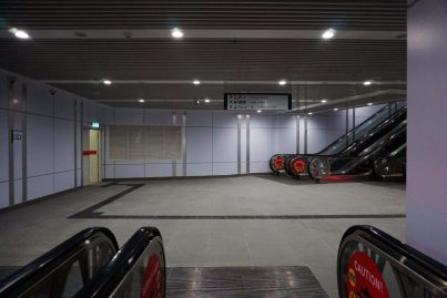 Linkway which consists of both underground and elevated sections to connect the Muzium Negara MRT station with KL Sentral station.