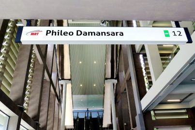 Entrance A of Phileo Damansara station
