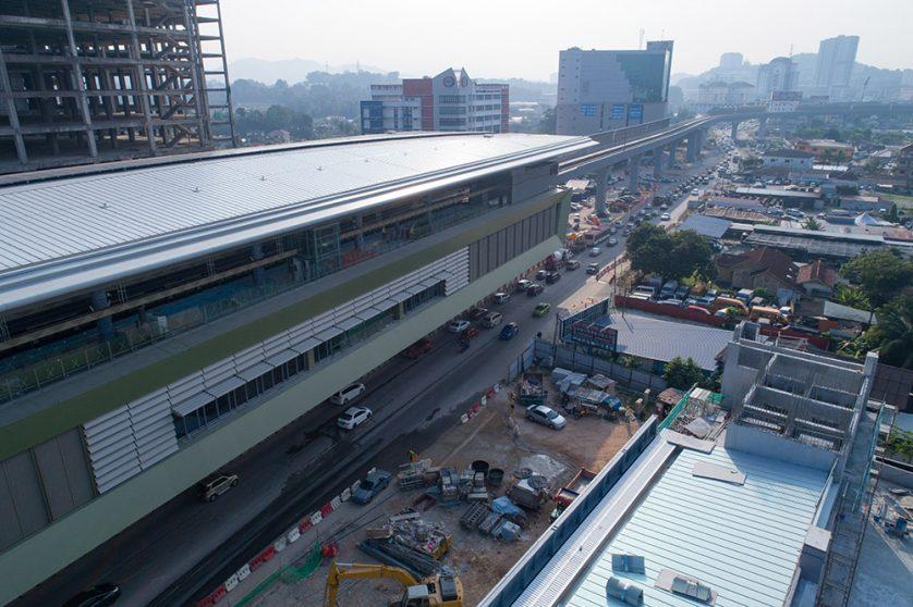 Sungai Jernih MRT Station
