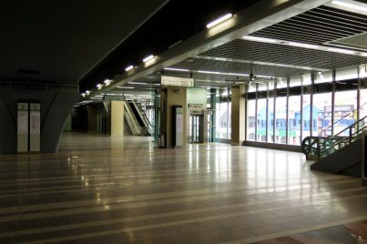 Concourse level of Surian station