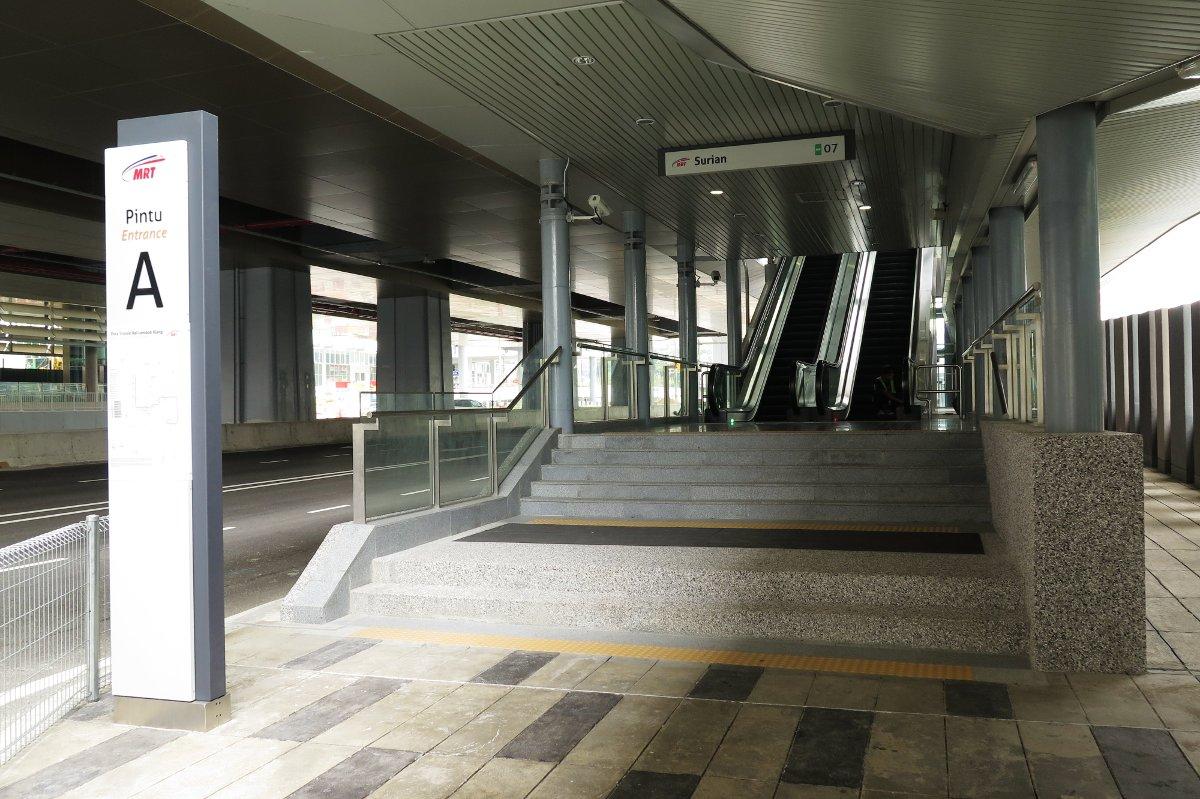 Surian Mrt Station Big Kuala Lumpur