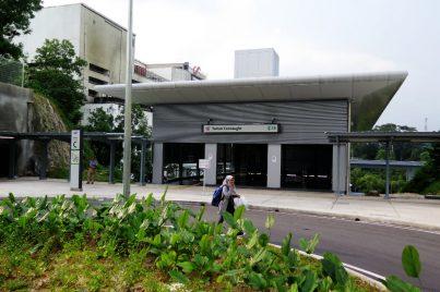 Entrance C of Taman Connaugh station