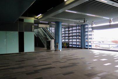 Toilets and surau facilities at Taman Midah station