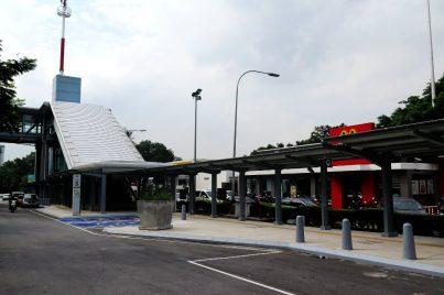Entrance B of Taman Midah station