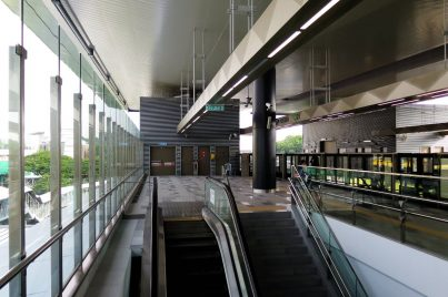 Escalators for level access