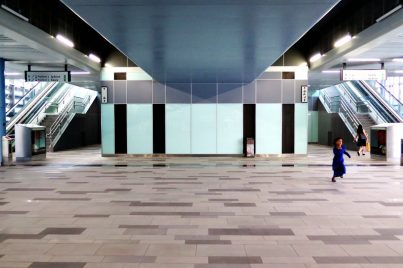 Concourse level of Taman Mutiara station