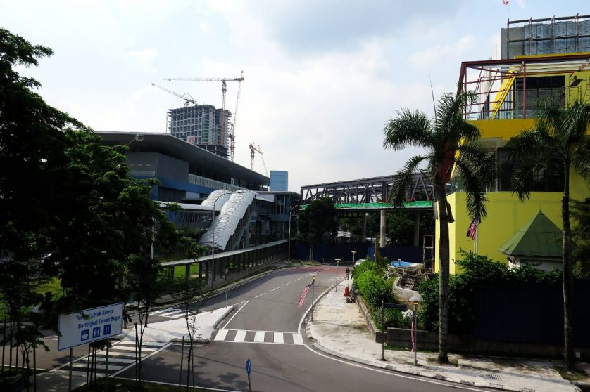 Leisure mall nearby the Taman Mutiara station