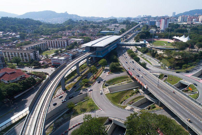 Taman Pertama MRT Station