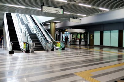 Escalators for level access