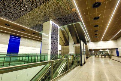 Concourse level of Tun Razak Exchange station