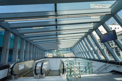 Entrance of Bukit Bintang MRT Station near BB Plaza