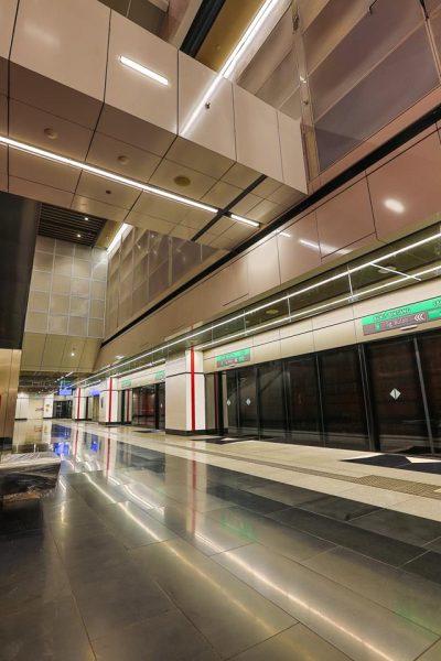 Platform 2: Sungai Buloh–Kajang Line towards Sungai Buloh