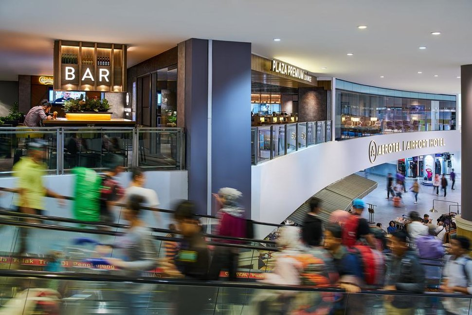 Aerotel Kuala Lumpur hotel within the Gateway@klia2 mall