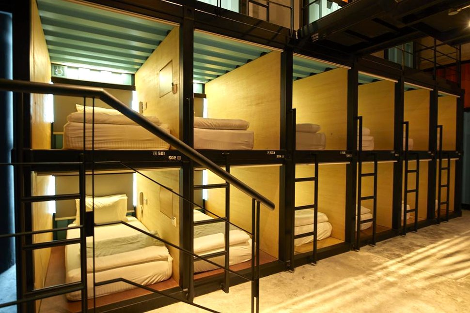'Capsule' at the Capsule by Container Hotel