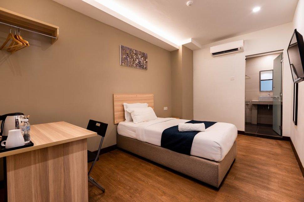 Spacious and comfortable single room