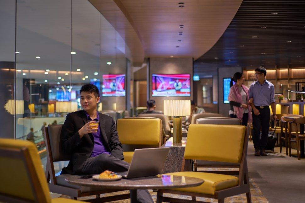 Lounge Bay of Plaza Premium Lounge