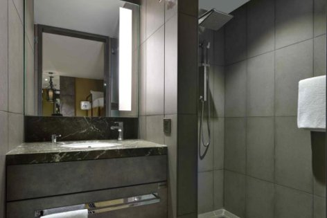 Spacious & clean washroom