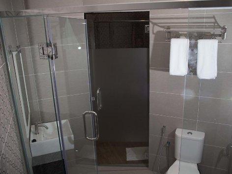 Comfortable and spacious bathroom