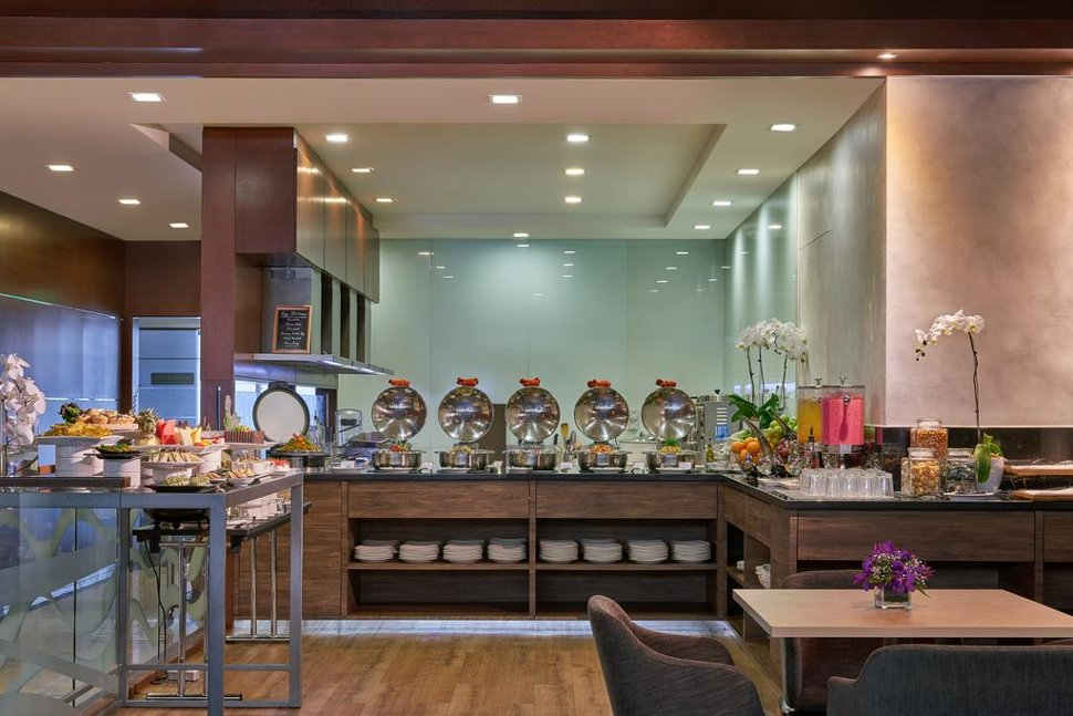 Buffet at the lounge
