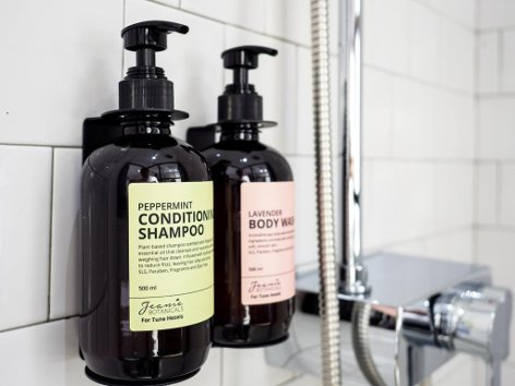 Shampoo & body wash lotion